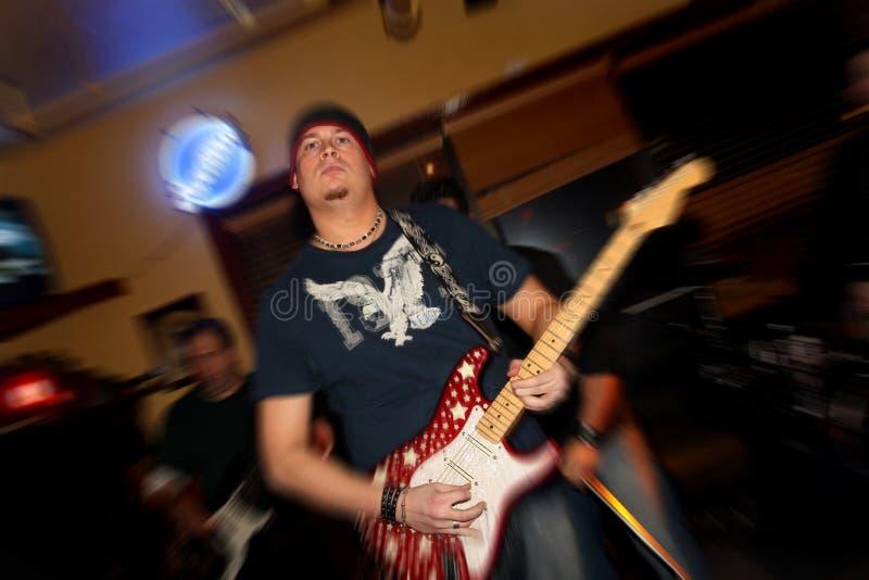 Rockband arkivbild