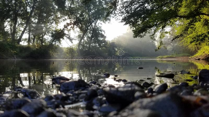 Rockbridge State Nature Preserve royalty free stock photography