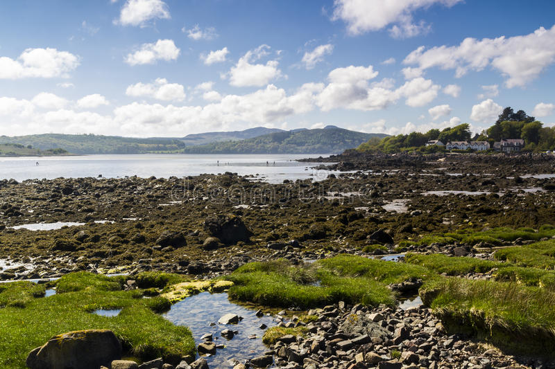 Rockcliffe, Dumfries e Galloway, Escócia foto de stock royalty free