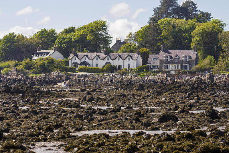 Rockcliffe, Dumfries e Galloway, Escócia fotografia de stock