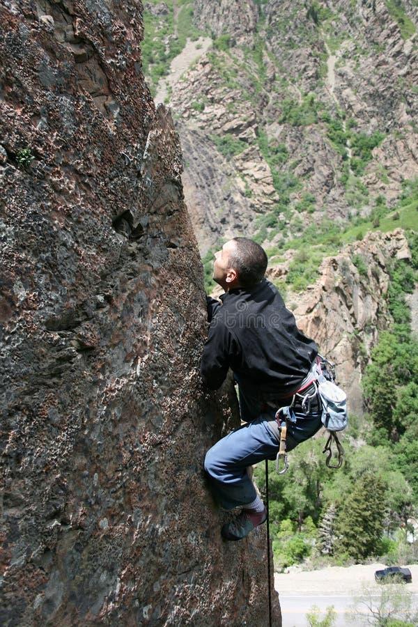 Rockclimber royalty free stock photo