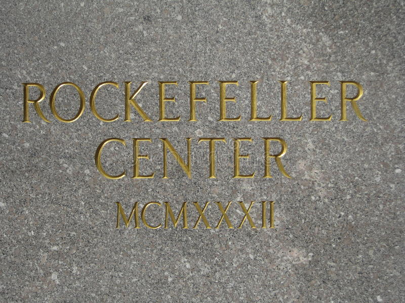 Download Rockefeller Center editorial photography. Image of image - 20124102