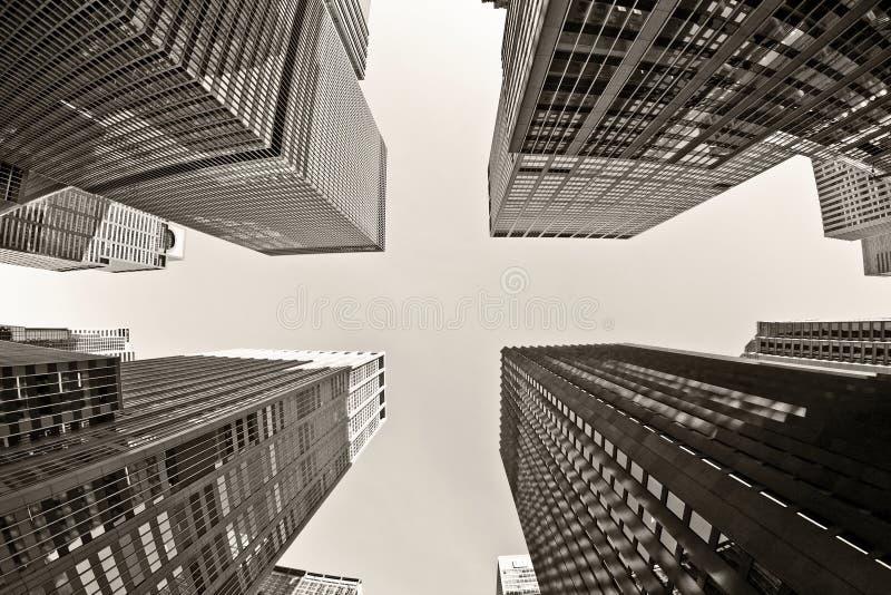 The Rockefeller Center stock image