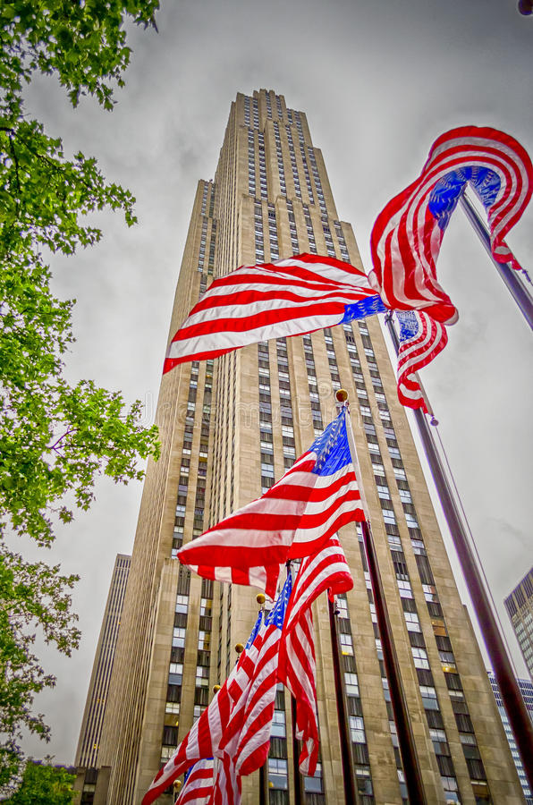 Download Rockefeller Center, New York City Stock Image - Image of deco, electric: 32559703