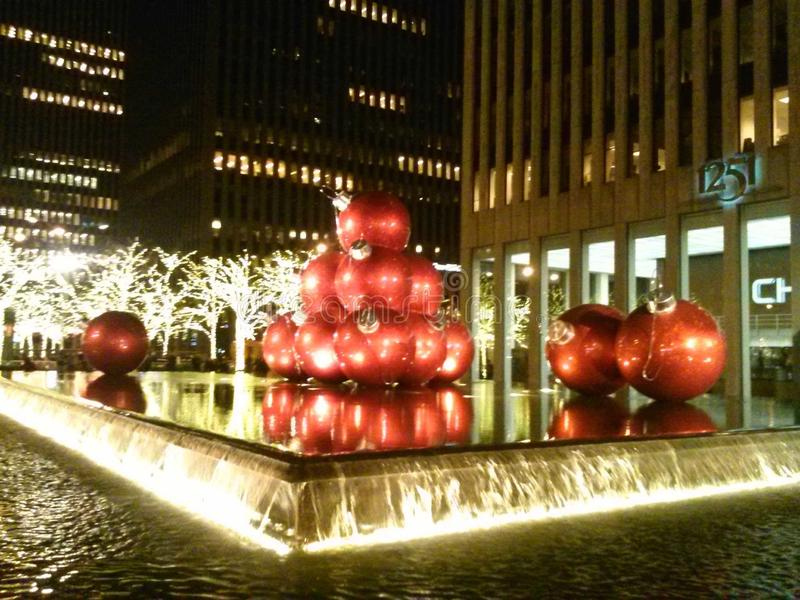 Rockefeller Center NYC arkivfoto