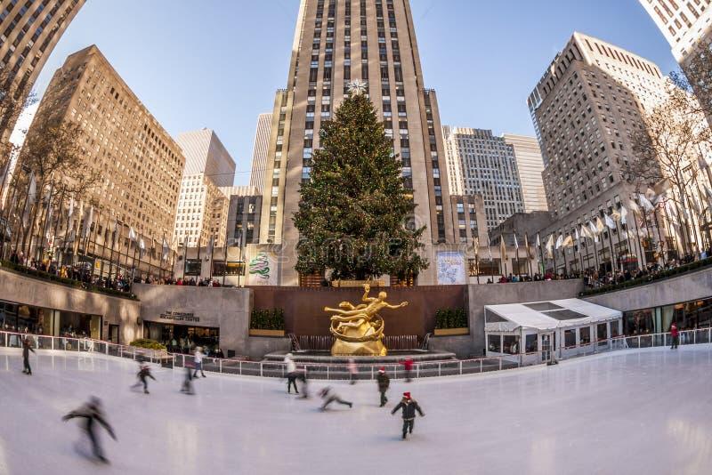 Rockefeller Center royalty free stock image