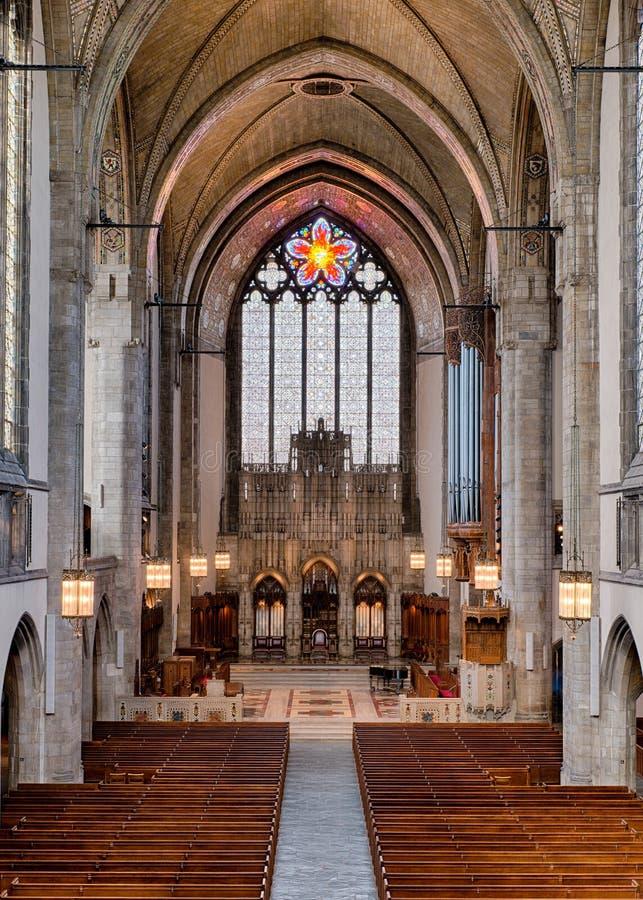 Rockefeller Chapel stock photo