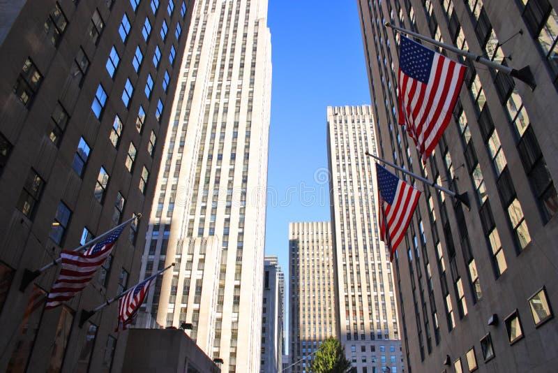 Rockefeller-Mitte, New York, USA lizenzfreies stockbild