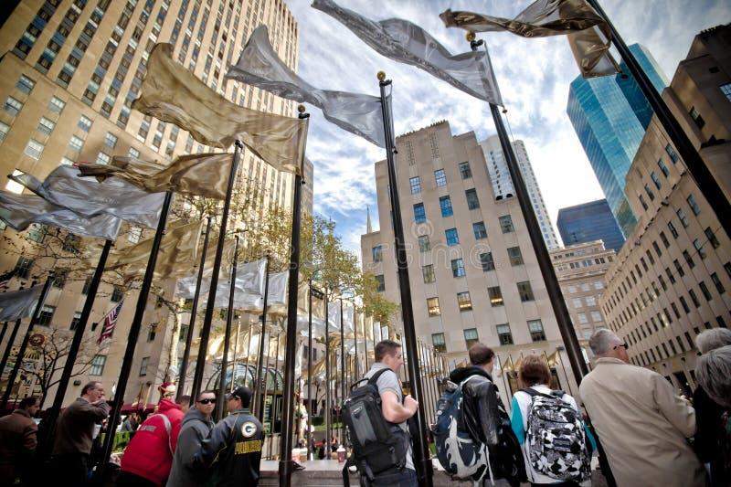 Rockefeller Mittel-NYC stockfotos