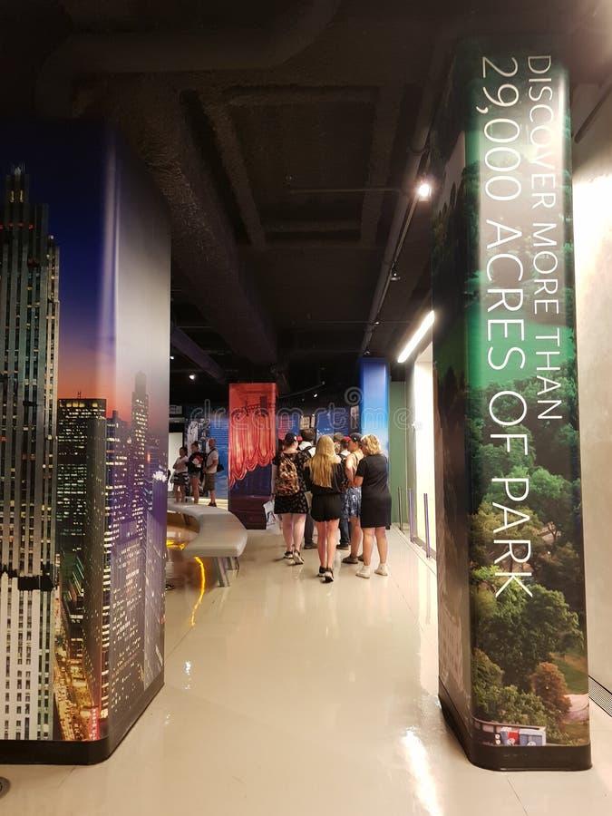 Rockefeller-Museumsinnere lizenzfreies stockbild