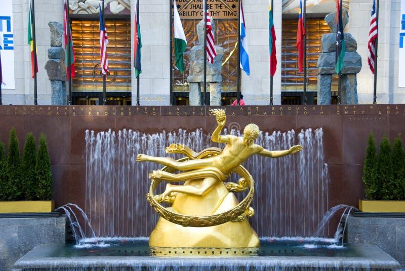 Rockefellercentrum stock foto