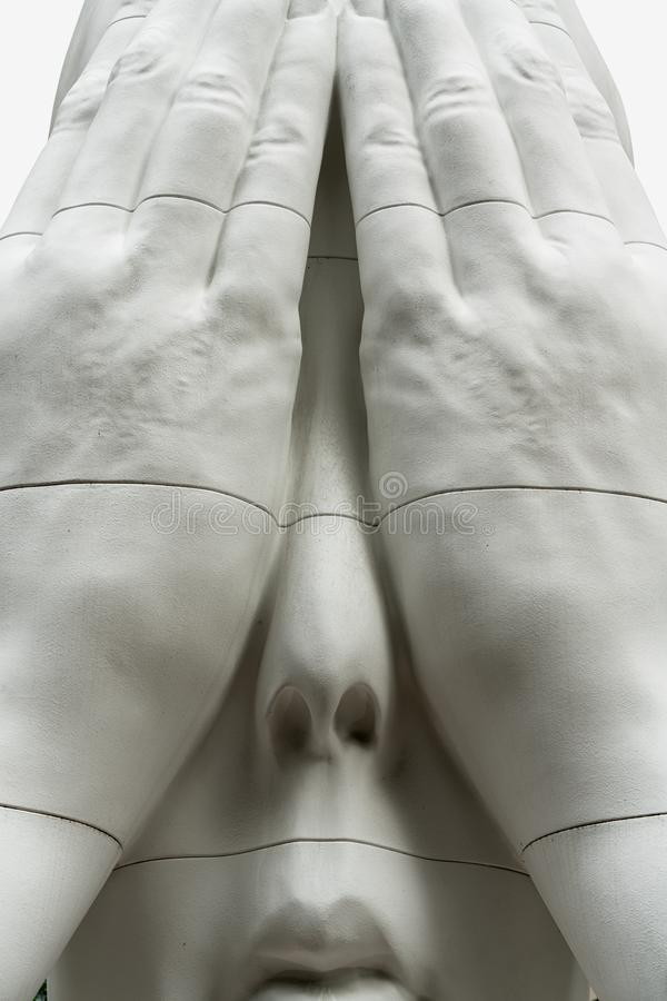 Rockefellerplein, Friesbeeldhouwwerk achter de Muren royalty-vrije stock afbeeldingen