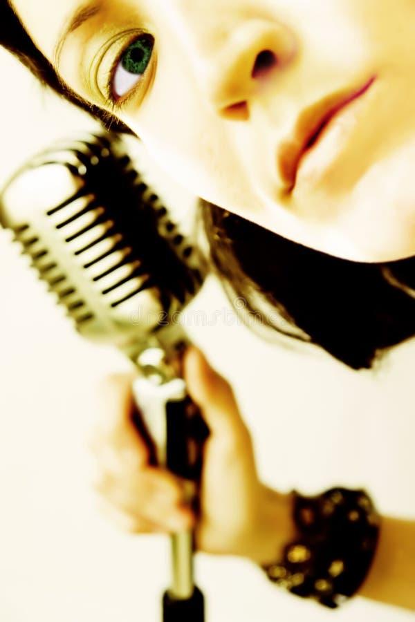 Rocker Girl stock photography