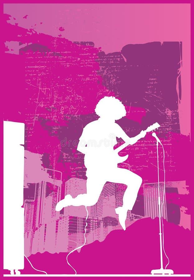 Download Rocker jump purple stock vector. Illustration of instrument - 9492988