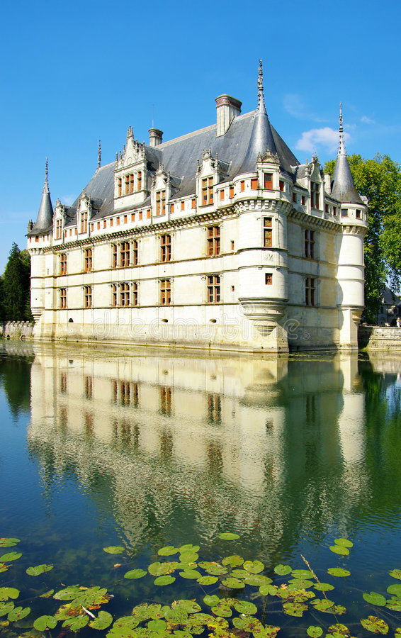 rockerar Loire Valley royaltyfria bilder
