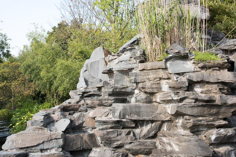 Rockery kamień obrazy stock