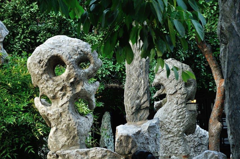 Rockery stone stock photography