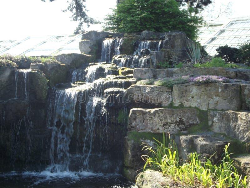 Rockerywasserfall stockfotos