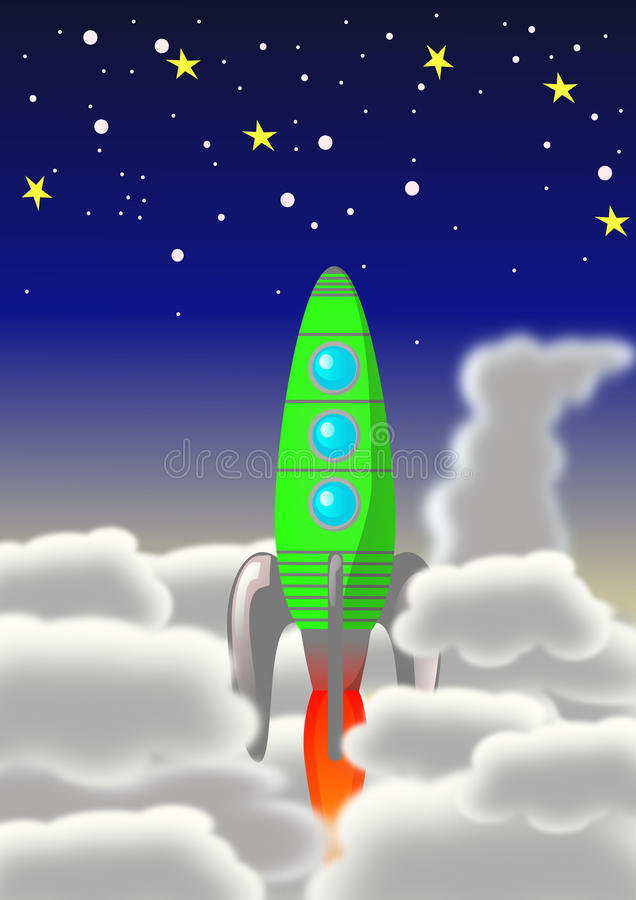 Rocket libre illustration
