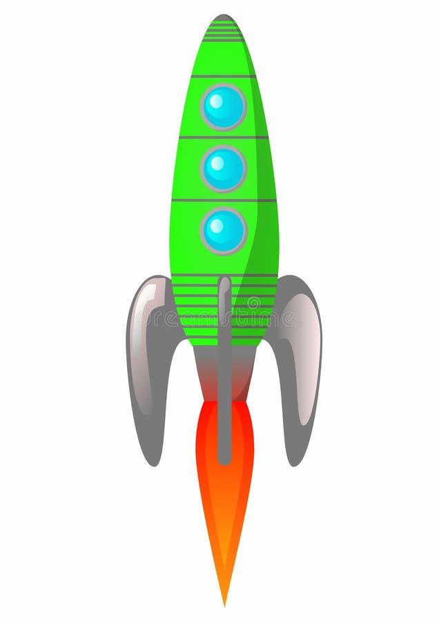 Rocket ilustración del vector