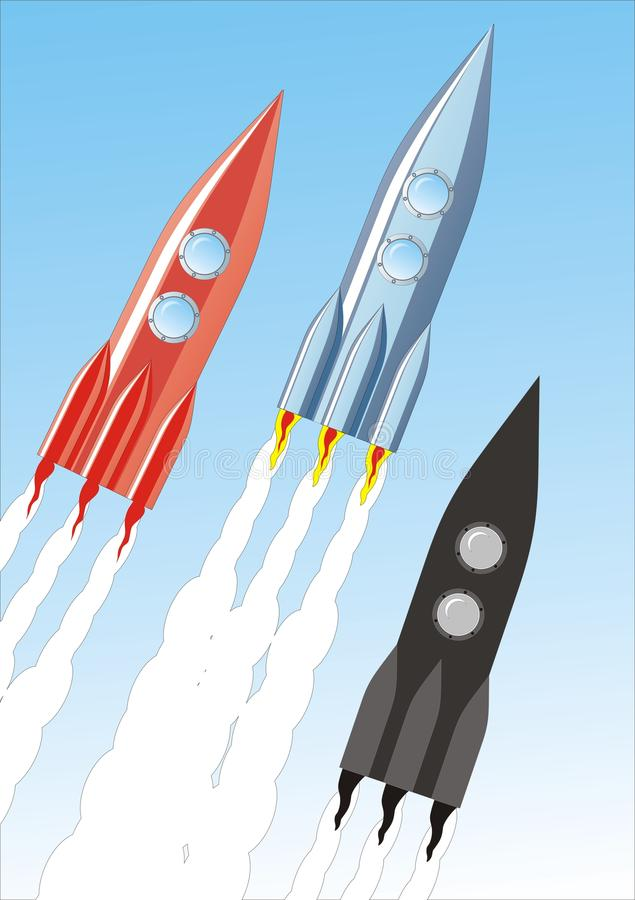 Rocket illustration libre de droits