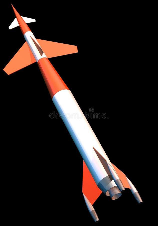 Rocket ilustração royalty free