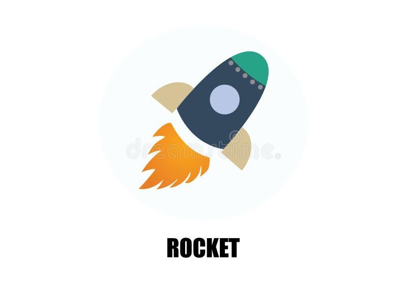Rocket ilustração do vetor