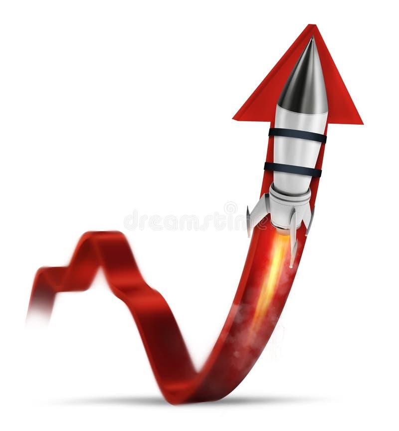 Rocket ayuda a mejorar estadística de negocio para crecer libre illustration
