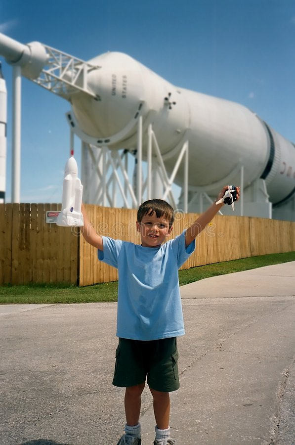 Download Rocket Boy stock image. Image of boster, children, space - 49771