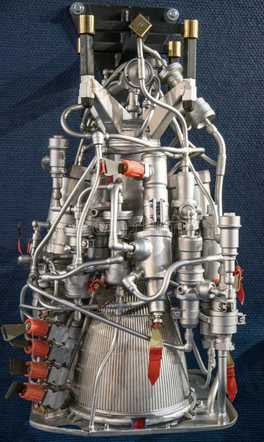 Rocket Engine imágenes de archivo libres de regalías
