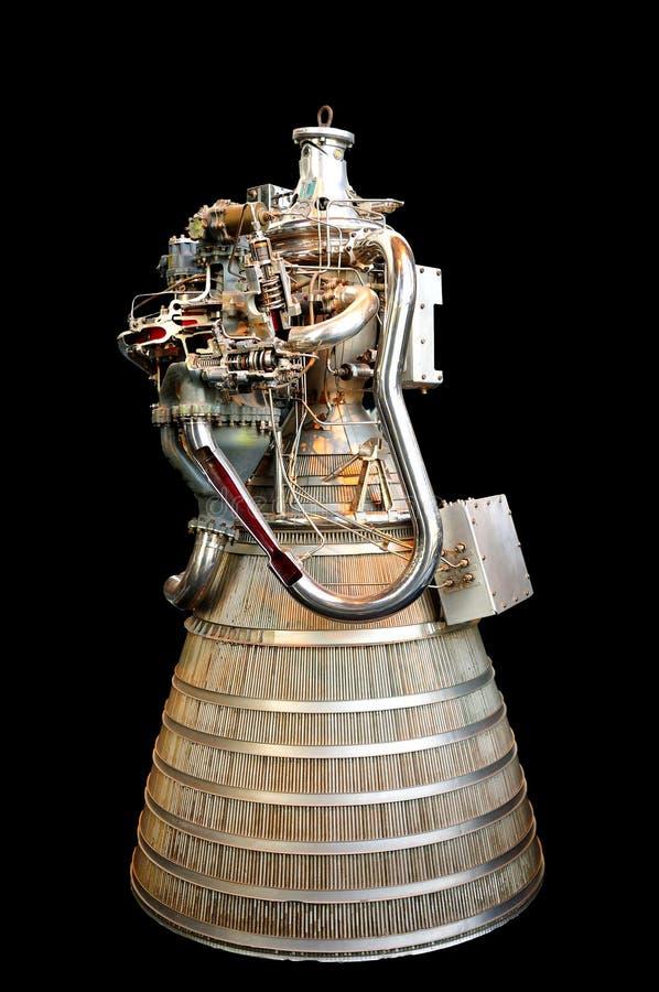 Rocket Engine. Early Hydrogen and Oxygen designed rocket engine royalty free stock images