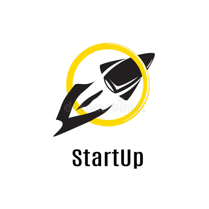 A Rocket Flying Through The Ring Is The Best Symbol Of Startup O