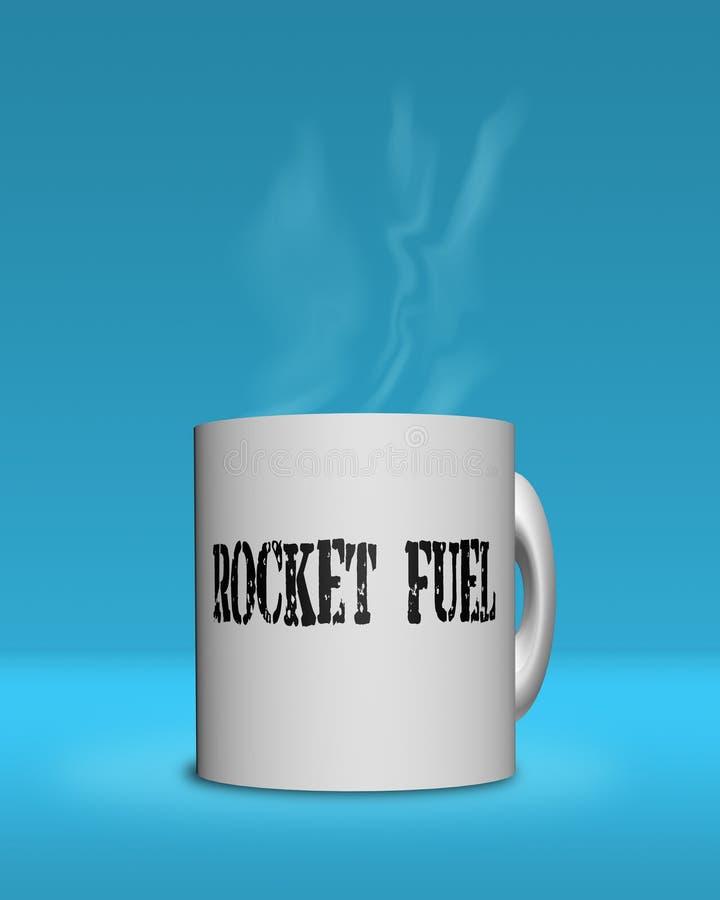 Download Rocket Fuel For Your Morning Stock Illustration - Image: 22361391