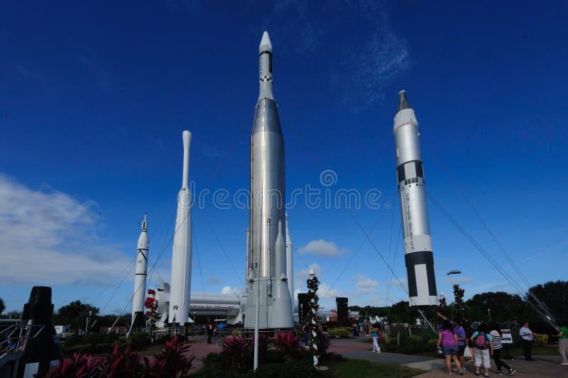 Rocket Garden photos libres de droits