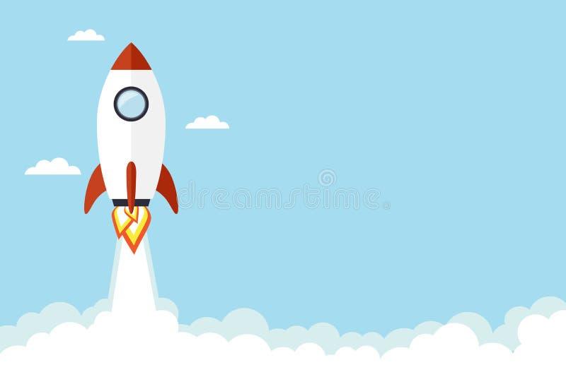 Rocket illustration vector illustration