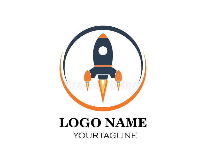 Rocket ilustration logo vector icon vector illustration