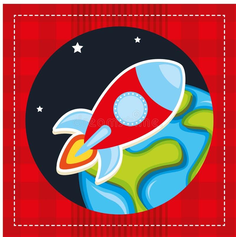 Rocket Launch ilustración del vector