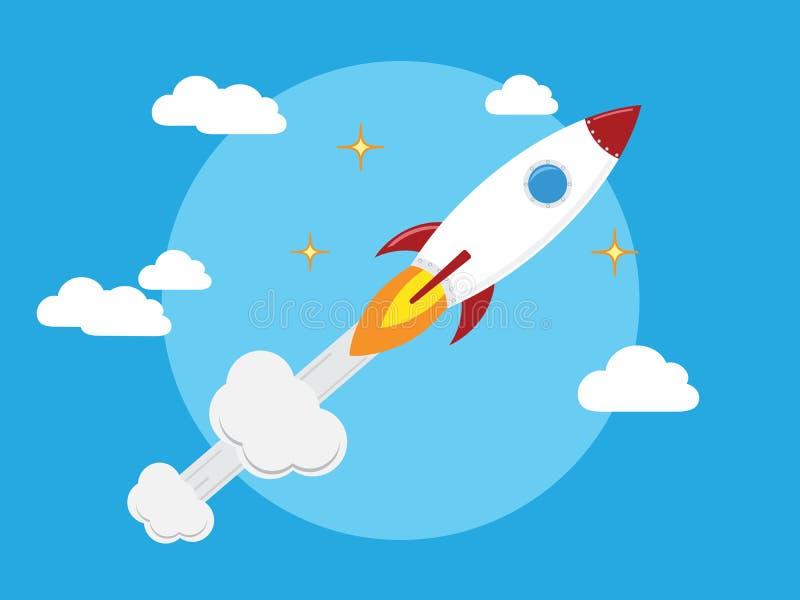 Rocket Launch ilustração do vetor
