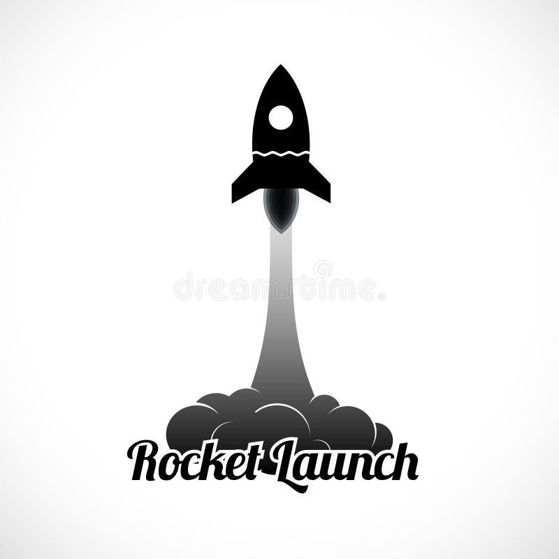 Rocket Launch Icon vector illustratie