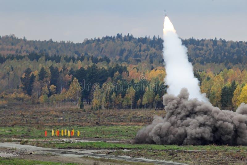 Rocket Launcher arkivfoton