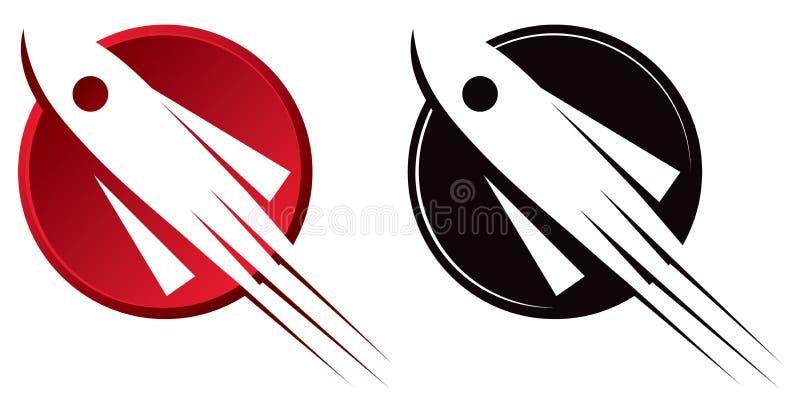 Red Rocket Icon Rocket Logo Roy...