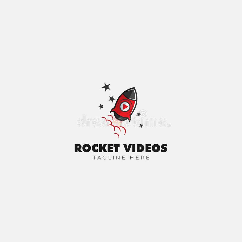 Rocket Logo Studio y medios logotipo de la biblioteca libre illustration