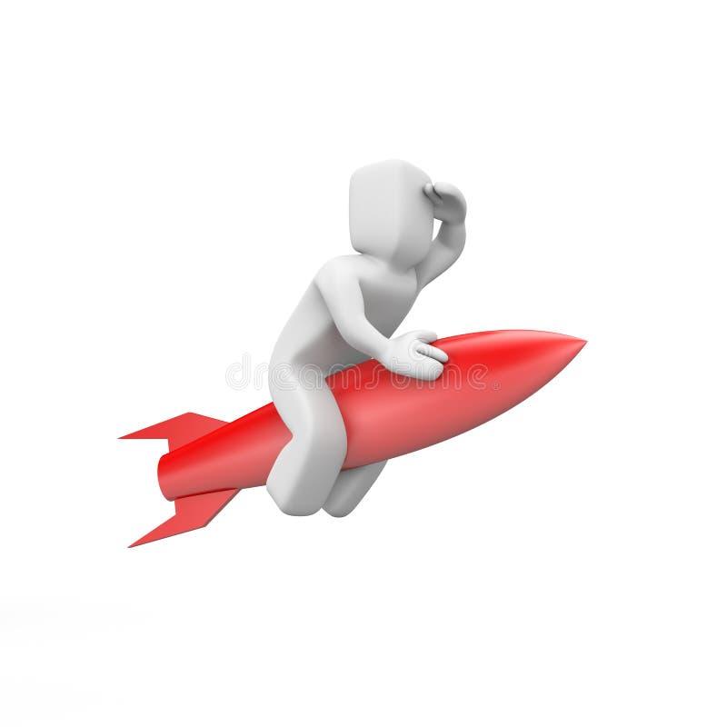 Rocket-Mann vektor abbildung