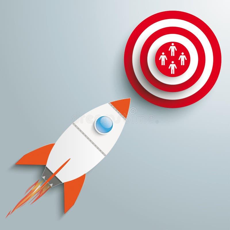 Rocket Marketing stock illustration