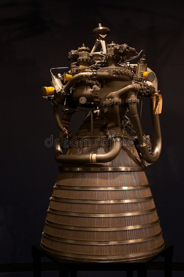 Rocket Motor stock images