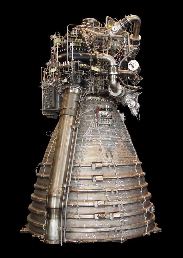 Rocket-Motor stockfotografie