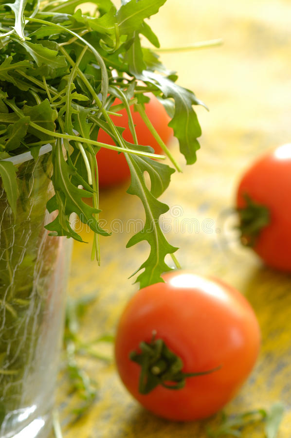 Download Rocket Salad stock image. Image of ruccola, tomato, delicious - 13146703