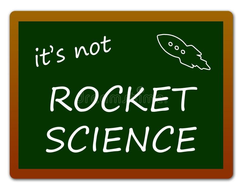Rocket Science royaltyfri illustrationer