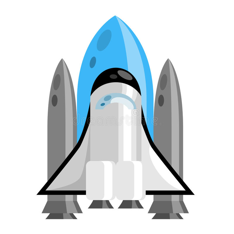 Download Rocket ship stock illustration. Illustration of transport - 22040367