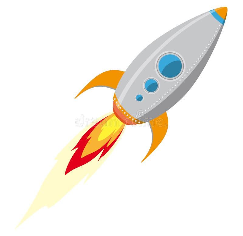 Download Rocket ship stock vector. Image of cartoon, airplane - 26432229